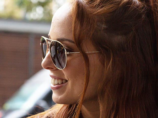Sunglasses Polarised 'Maverick' Gold