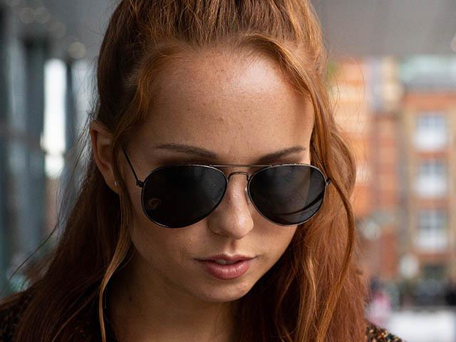 Sunglasses Polarised 'Maverick' Gun Metal
