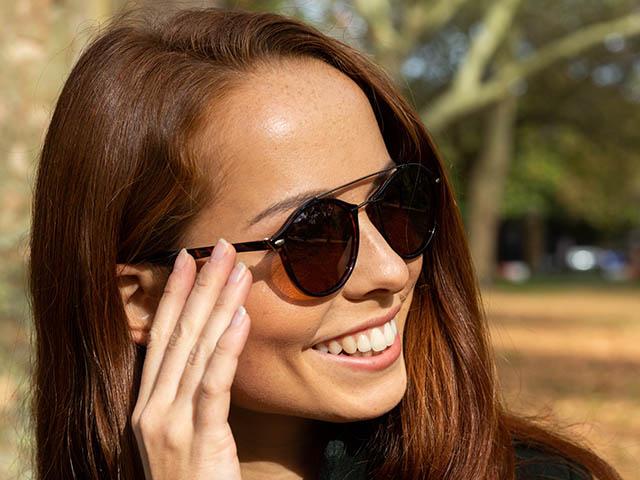 Sunglasses Polarised 'Langley' Tortoiseshell