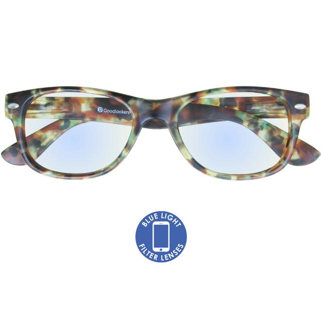 Blue Light Reading Glasses 'Billi' Multi Tortoiseshell