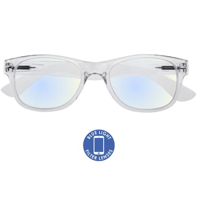 Blue Light Reading Glasses 'Billi' Transparent