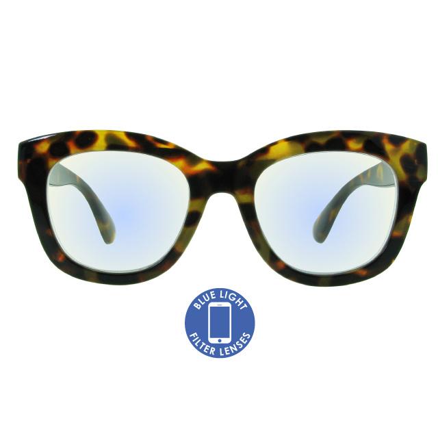 Blue Light Reading Glasses 'Encore' Tortoiseshell