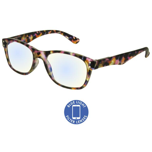 Blue Light Reading Glasses 'ScreenSpecs' Multi Tortoiseshell