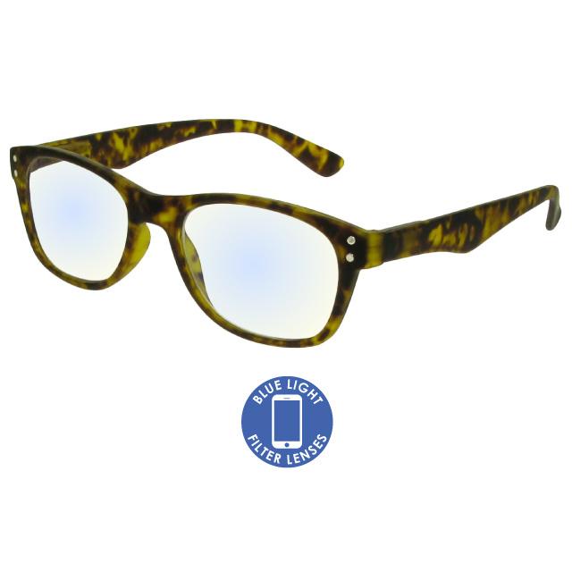 Blue Light Reading Glasses 'ScreenSpecs' Tortoiseshell