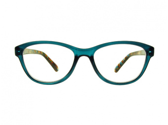 Lucille Turquoise Front