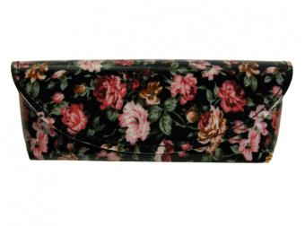 Antique Floral Black Front