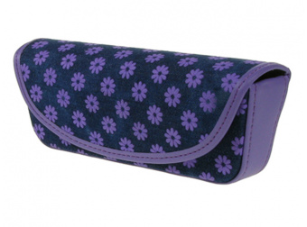 Daisy Denim Purple Side
