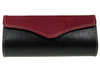 Purse Two Tone Red Front