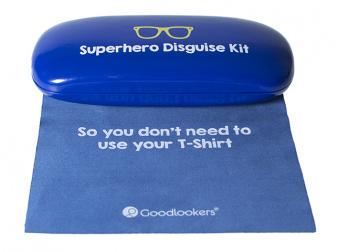 Slogan Case Blue Cloth