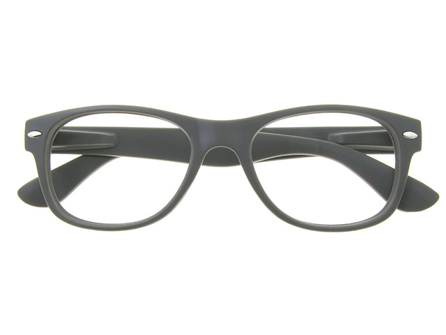Blue Light Reading Glasses 'Billi' Matt Grey