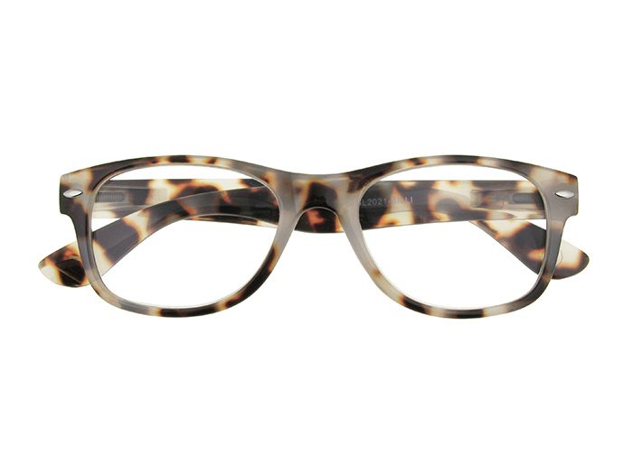 Reading Glasses 'Billi' White Tortoiseshell
