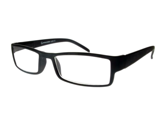Reading Glasses 'Detroit' Black