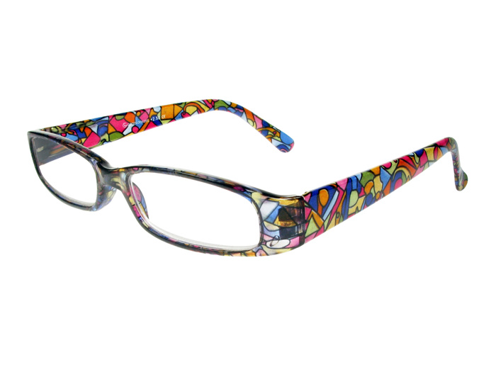 Reading Glasses 'Bliss' Multi Harlequin