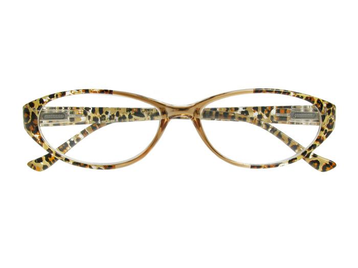 Reading Glasses 'Lynx' Brown