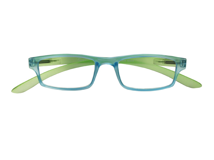 Reading Glasses 'Neck Specs' Blue/Green