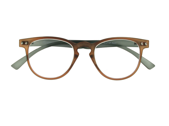 Reading Glasses 'Kent' Brown/Grey