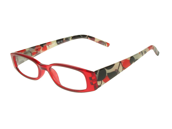Reading Glasses 'Blenheim' Red