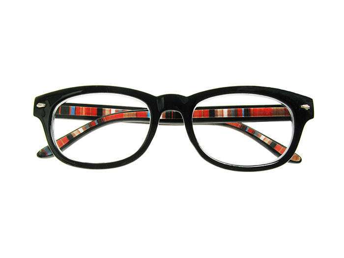 Reading Glasses 'Tate' Black