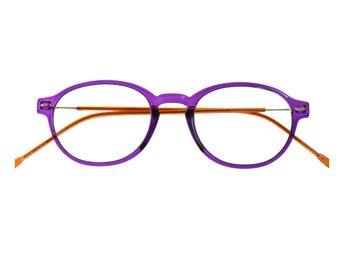 Reading Glasses 'Weekend' Purple/Orange