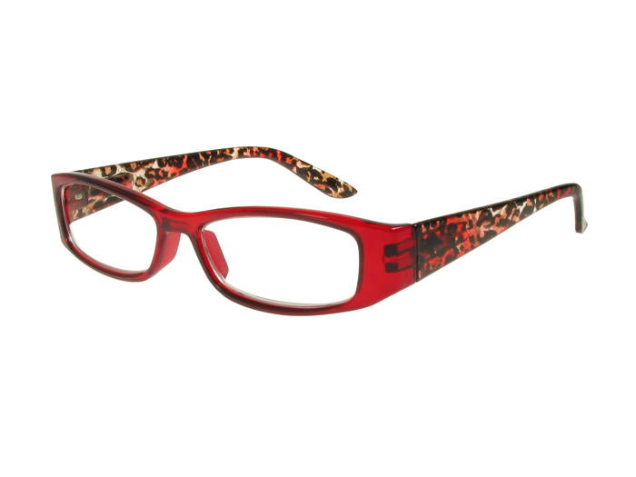 Reading Glasses 'Safari' Red