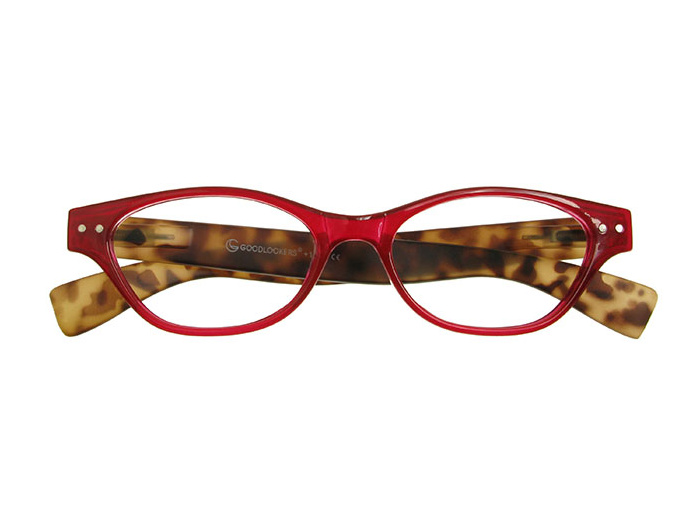 Reading Glasses 'Layla' Red/Tortoiseshell