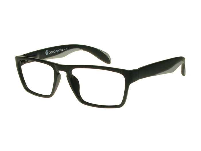 Reading Glasses 'Dean' Black/Grey
