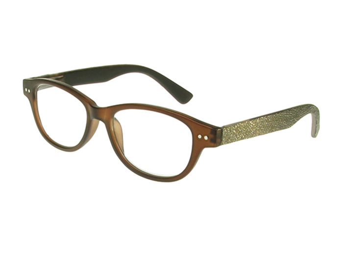 Reading Glasses 'Rene' Dark Brown