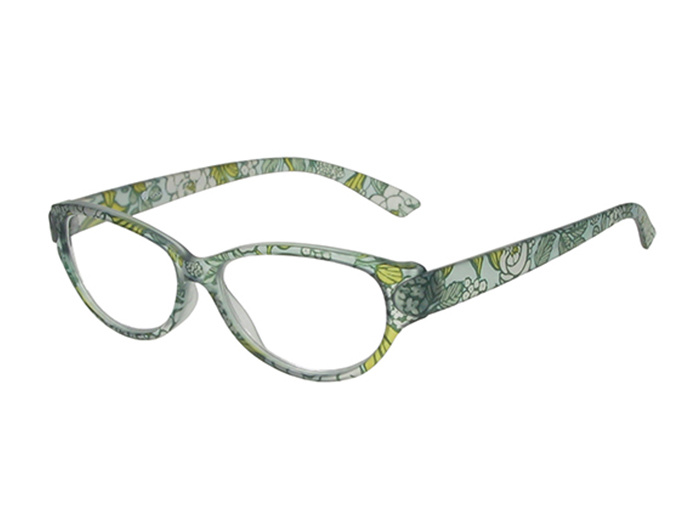 Reading Glasses 'Lulu' Blue Floral