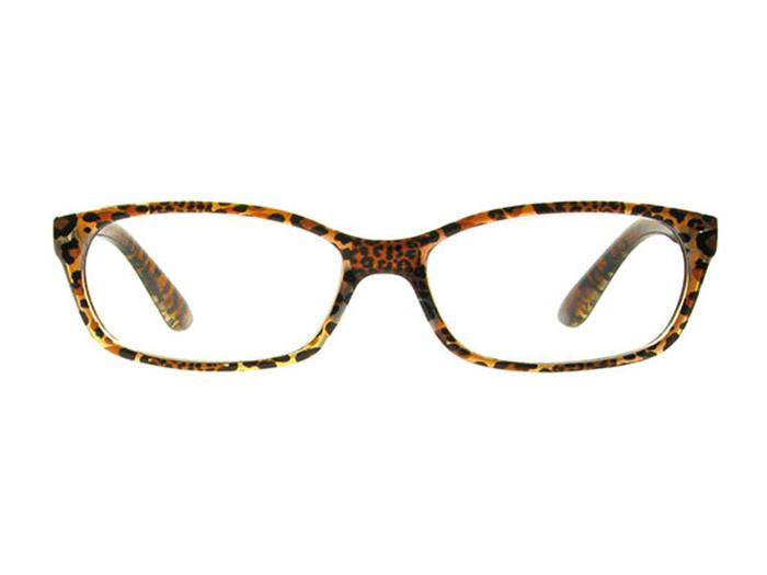 Reading Glasses 'Brazil' Dark Leopard