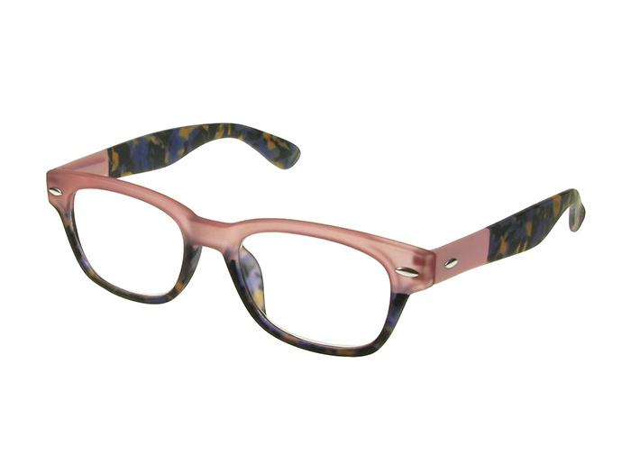 Reading Glasses 'Brook' Pink/Blue Tortoiseshell