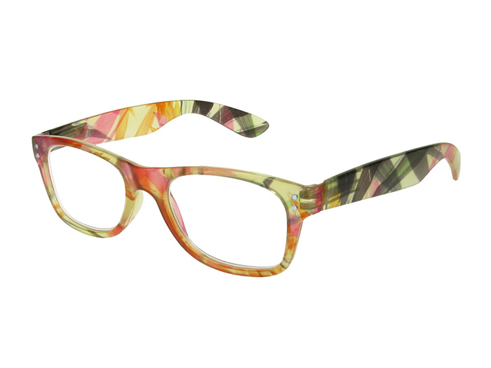 Reading Glasses 'Harper' Orange Floral