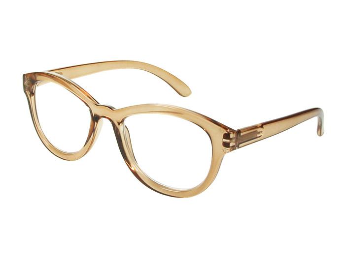 Reading Glasses 'Charleston' Brown