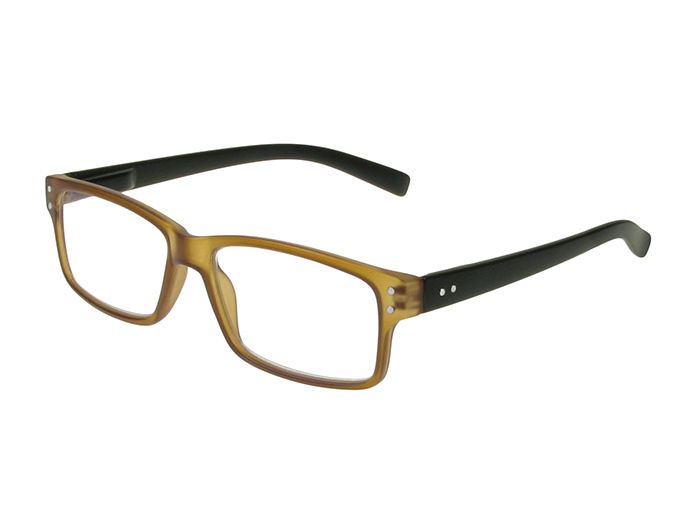 Reading Glasses 'Oxbridge' Brown