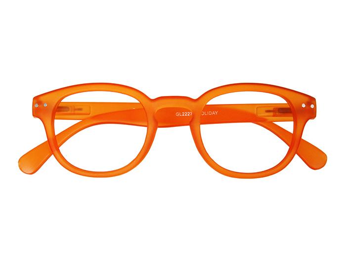Reading Glasses 'Holiday' Orange