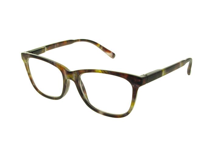 Reading Glasses 'Hayward' Brown Multi