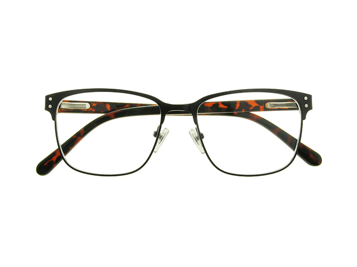 Reading Glasses 'Freddie' Black/Tortoiseshell