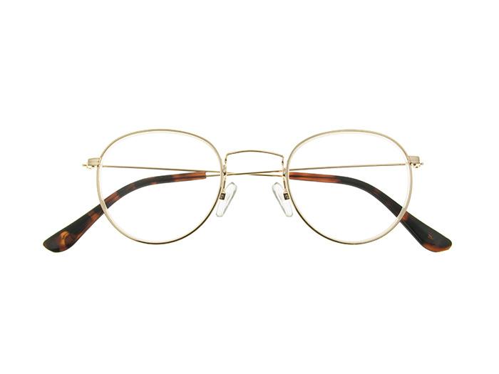 Reading Glasses 'Bakerloo' Gold