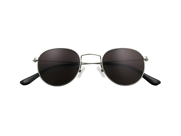 Reading Sunglasses 'Bakerloo' Silver