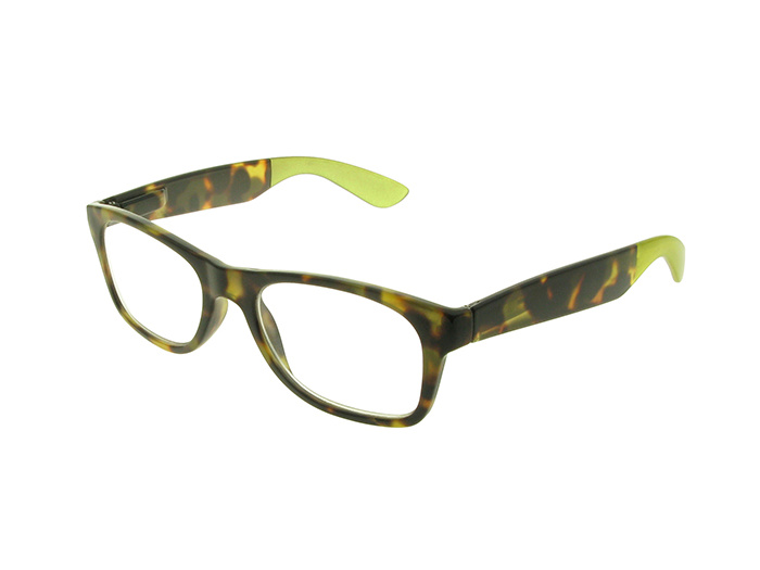 Reading Glasses 'Highgate' Brown/Green