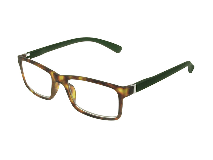 Reading Glasses 'Parker' Tortoiseshell/Dark Green