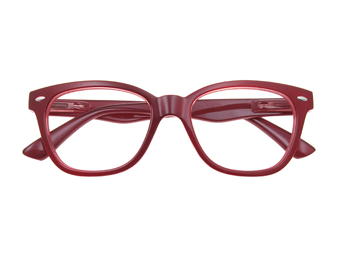 Reading Glasses 'Josey' Burgundy