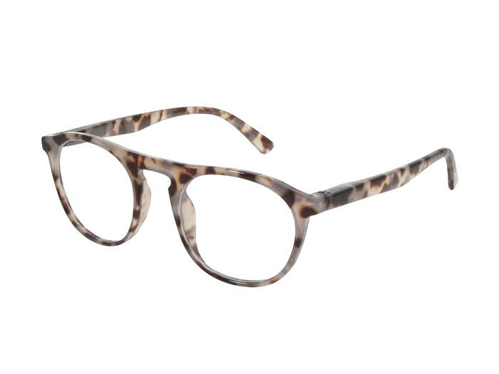 Reading Glasses 'Bloomsbury' White Tortoiseshell