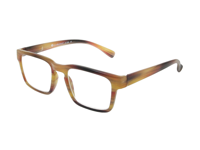 Reading Glasses 'Stockholm' Brown Stripe