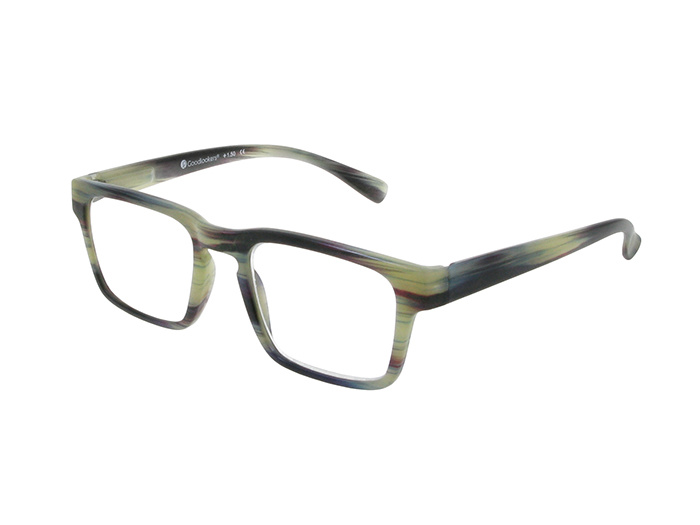 Reading Glasses 'Stockholm' Grey Stripe