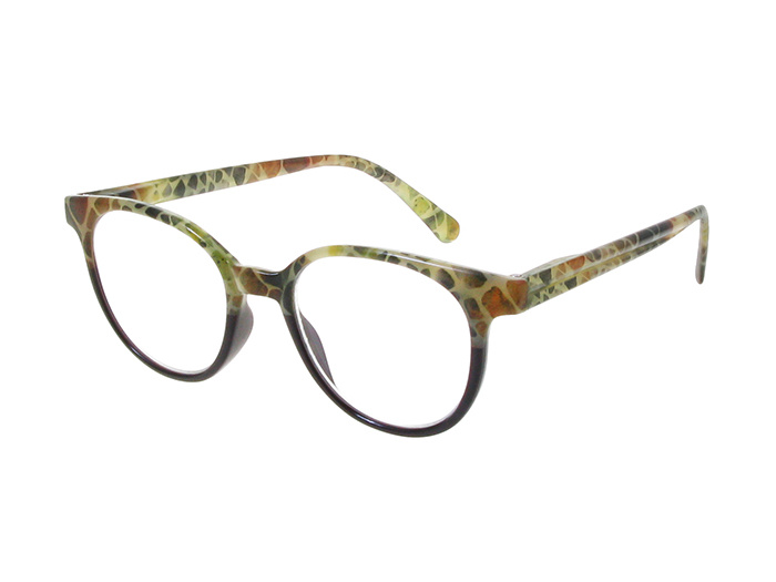 Reading Glasses 'India' Brown