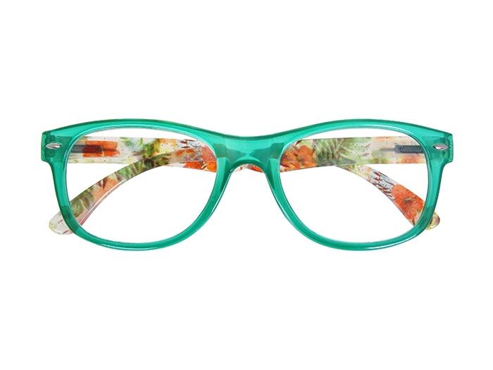 Reading Glasses 'Megan' Green