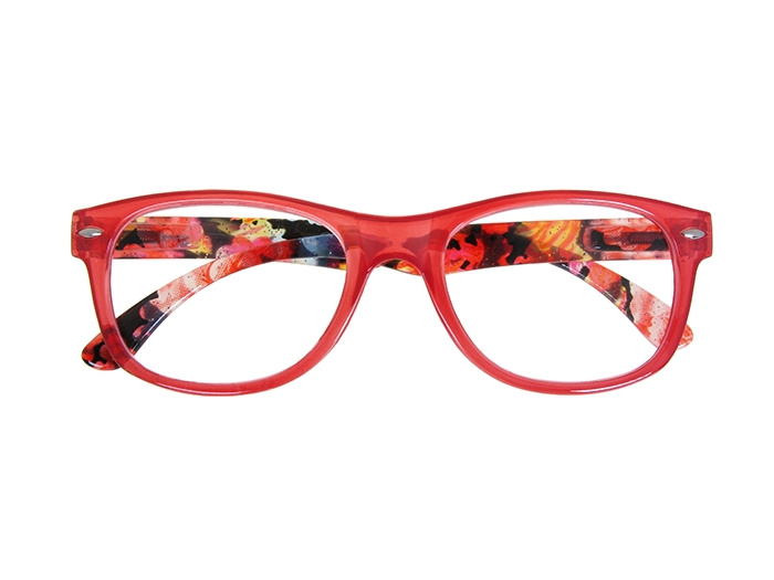 Reading Glasses 'Megan' Red