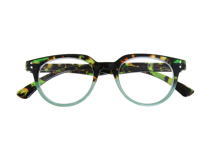 Reading Glasses 'City' Green