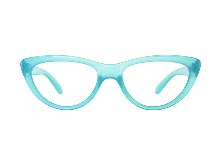 Reading Glasses 'Cleo' Blue