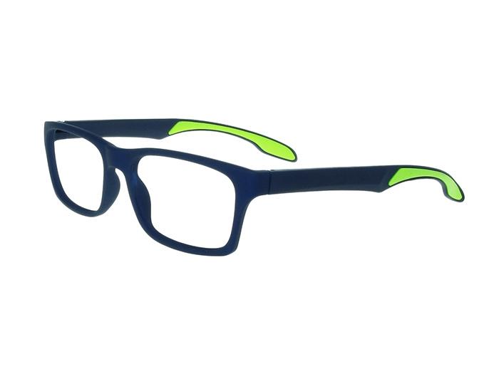 Reading Glasses 'Joshua' Blue/Lime